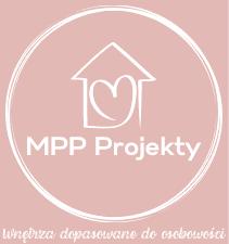 Logo MPP Projekty Projektowanie wnętrz Gdynia online